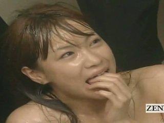 Subtitled enf cmnf pakvaišęs japoniškas sperma spattered mokytojas