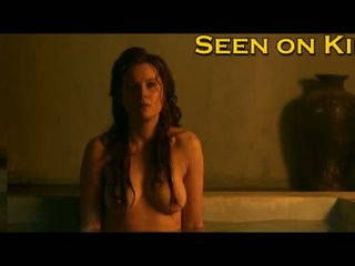Lucy Lawless and Viva Bianca wet and topless Video