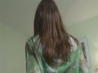 סקסי ivana עשייה פאר masturbation