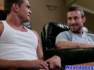 Muscular homo jock pounding tesné zadok