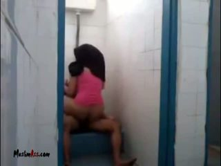 Hijab Jilbab Sex In Toilet