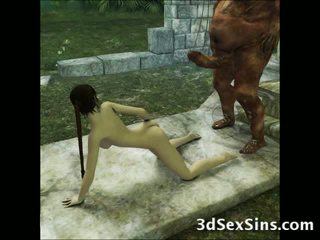 3d aliens e demons caralho meninas!