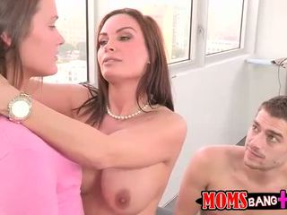 Diamond foxx și abby cruce excitat 3way
