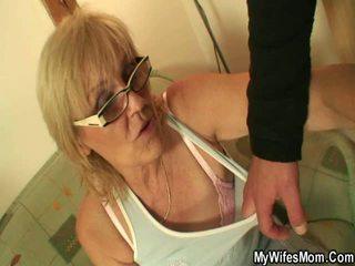 mummo, titty fuck, keittiö