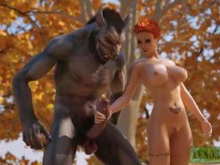 πρωκτικό σεξ, τραχύς, monsters