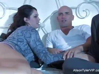 Alison tyler और उसकी male gigolo