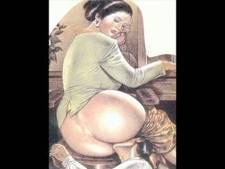 কার্টুন, bdsm art