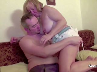 Hairy Mom get First Fuck in Front of Camera for Cash.