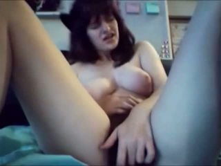 Hairy Young Girl Mastubates Her Big Clit For Multi