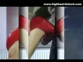reality, high heels, footjob