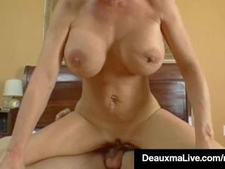 Texas cougar deauxma gets mooi hard sappig nat bips pounding!