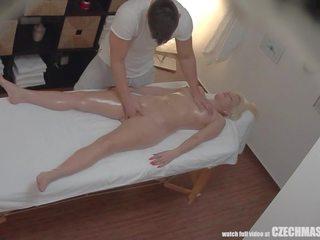 Busty Blonde Rides Masseur, Free Czech Massage Channel HD Porn