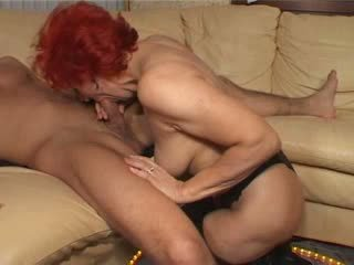Redhead german milf Video