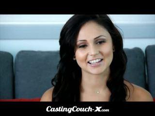 Casting couch-x dumb florida meisje loves naar neuken op camera