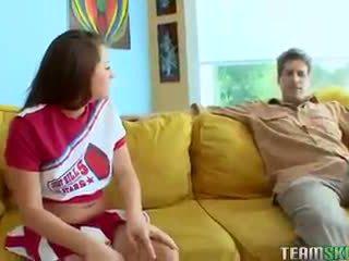 TeamSkeet Young small tits tattoedbrunette cheerleader Talia Palm