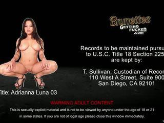 Eat Sleep Porn: Adrianna Luna cunt fucked POV style
