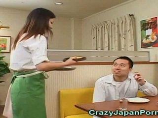 tette, giovane, giapponese