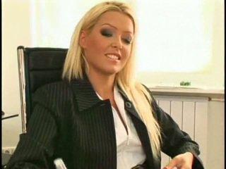 Super sexy a krásne nový lezbické sekretárka