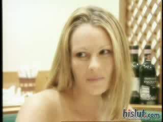 brunete, redzēt trieciens darbu, penis