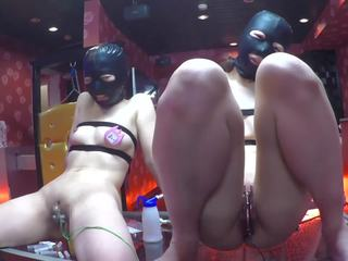 Name Tag and Electro Torture Two Girls, Porn 58