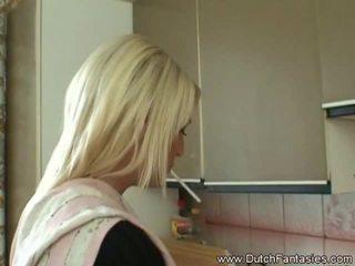 Extrem mund ficken blond holländisch