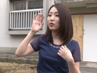 briunetė, japonijos, makšties masturbacija