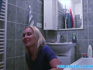 PublicAgent Blonde wants sex on a tabl...