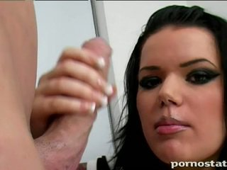 briunetė, hardcore sex, storas