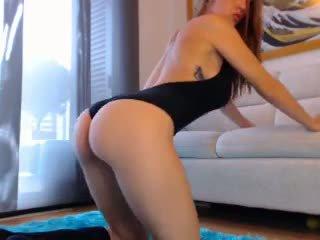 Sexy ruiva webcam gaja com grande mamas 3: grátis porno cb