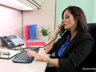 Smut Blokes Band Screw Teasing Big Titted Honey Ava Addams In The Office