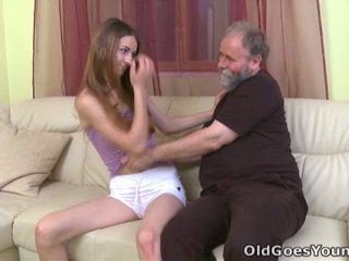 brunette, tiener sex, jong