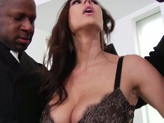 Bigtits MILF Kendra Lust Interracial Threesome: HD Porn 6c