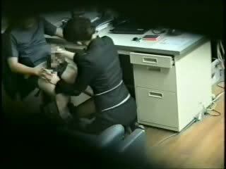 Japanese Boss Taped Fucking His Hot Secretary Video