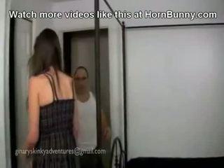 الأب و ابنة ديك جعل فوق جنس - hornbunny. com