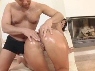 Simone peach uz liels phat mitra asses