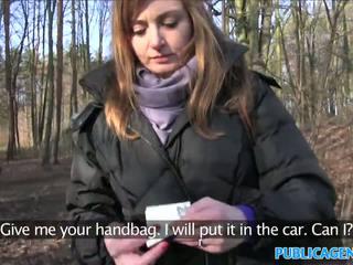 Publicagent sales dame has sex i en skog
