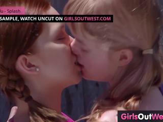 lesbietes, meitenes uz rietumiem