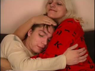 러시아의 엄마 과 아니 그녀의 아들