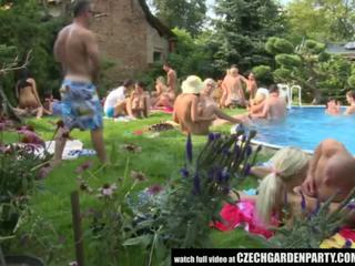 Tsjechisch open lucht seks party - porno video- 931