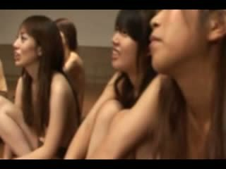The asian group gets a sex show with three people