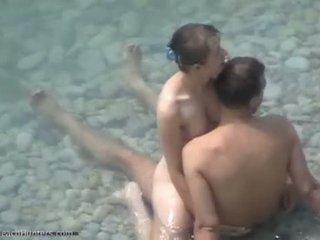Nude Couple Fucking On Nudist Beach