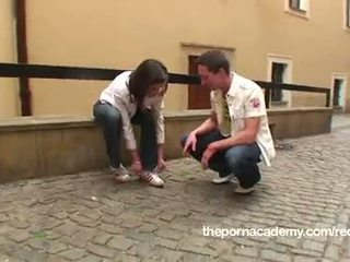 Teen learning how to use sex toys