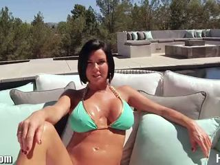 bruneta zábava, vaginální sex, cum v ústech pěkný