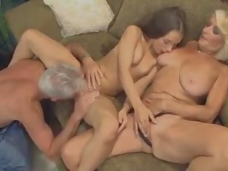 cumshots, threesomes, old+young