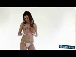 striptizas, brunetės