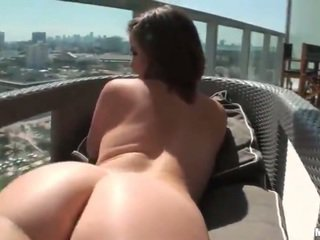 Sexy Amateur Woman Opening Time Anal
