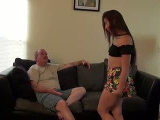 Mandy fucks me më të vjetër guy