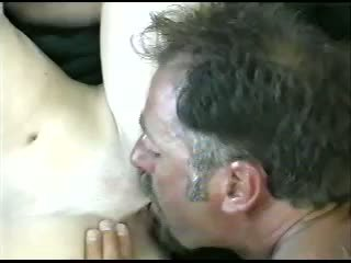 pipe, éjaculation, blond
