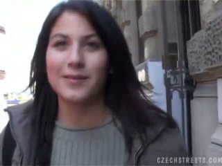 Warga czech streets veronika blows zakar/batang untuk wang
