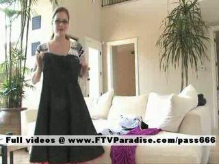 FTV girl Daniellesuperb busty babe flashing tits